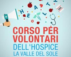 Corso per volontari dell'hospice La Valle del Sole